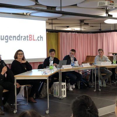 Podium zur Legalisierung von Cannabis und zur Gleichstellung an der BfG (März 2019)