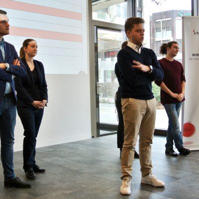 Vorstellung der Jungfreisinnigen BL am Fokustag der Handelskammer beider Basel (Februar 2020)