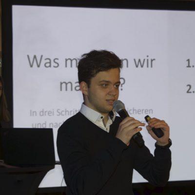 Vorstellung der Renteninitiative am Parteitag der FDP Baselland (März 2020)